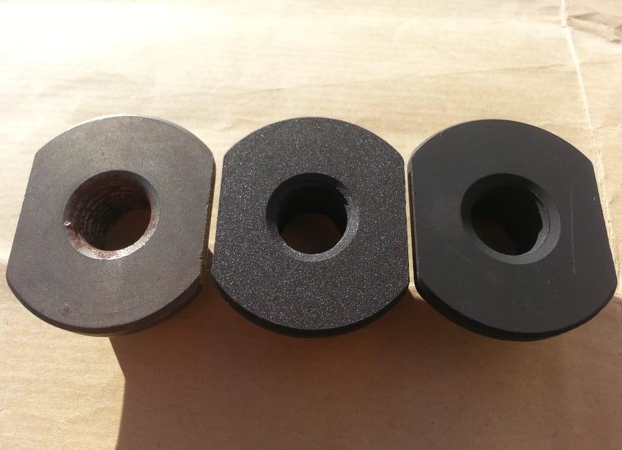 Phosphate applied in coating